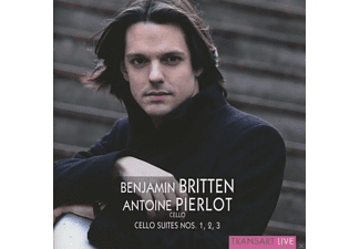 Antoine Pierlot - Cellosuiten 1-3 - (CD)