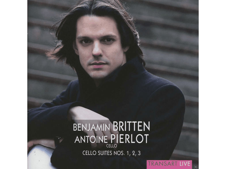 Antoine Pierlot - Cellosuiten 1-3 [CD]