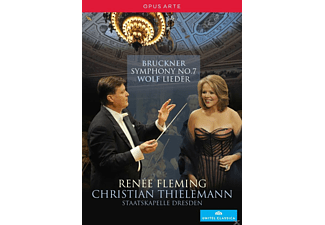 Renée Fleming, Staatskapelle Dresden - Symphony No. 7 / Lieder  - (DVD)