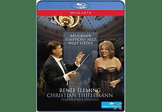 Fleming/Thielemann/Staatskapel, Fleming,Renée/Thielemann,Christian/SD - Sinfonie 7/Lieder  - (Blu-ray)