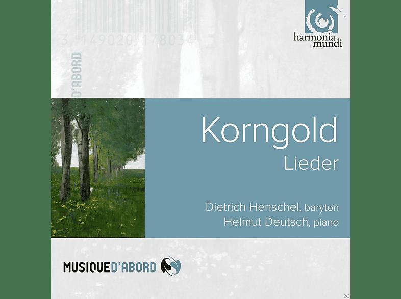 Dietrich Henschel, Helmut Deutsch - Korngold Lieder [CD]
