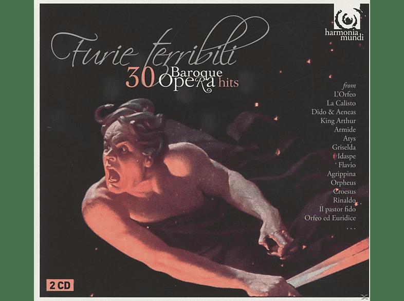 Janet Williams, Rene Jacobs, Concerto Köln - Furie Terribili-30 Barockopernhits [CD]