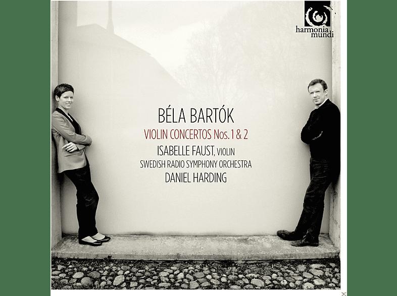 Daniel Harding, Isabelle Faust, Swedish Radio Symphony Orchestra - Violinkonzerte 1 & 2 [CD]