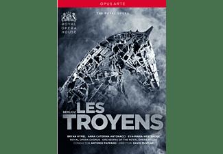 Anna Caterina Antonacci, Eva-maria Westbroek, Fabio Capitanucci, Royal Opera House Covent Garden Chorus, Royal Opera House Covent Garden Orchestra - Les Troyens  - (DVD)