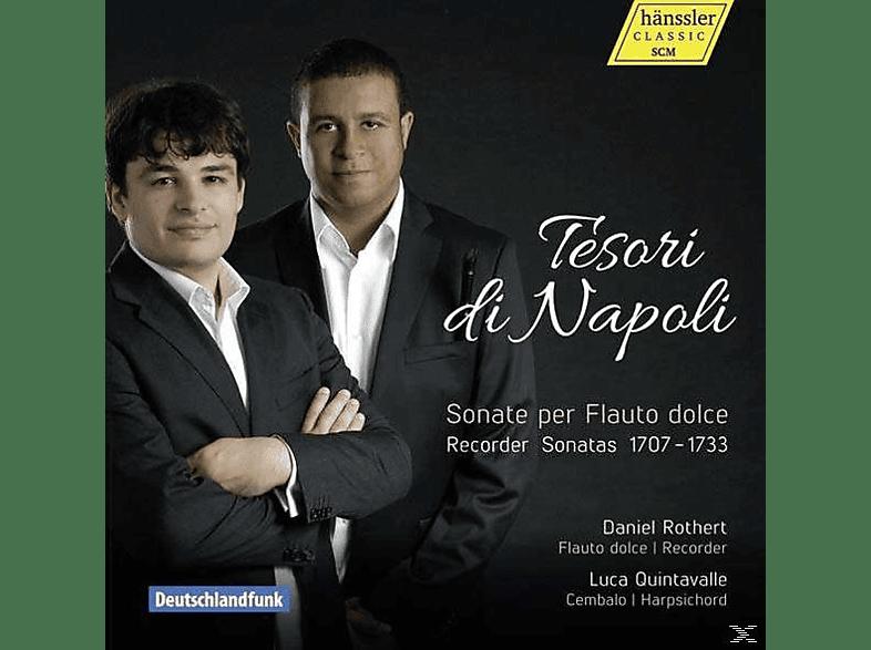 Luca Quintavalle, Daniel Rothert - Tesori Di Napoli [CD]