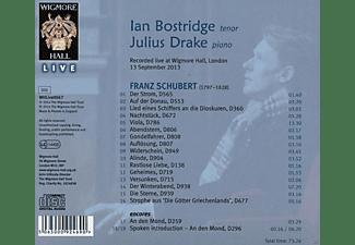 Julius Drake, Ian Bostridge - Songs By Schubert  - (CD)