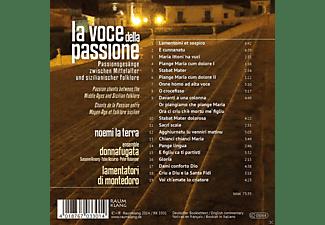 Noemi La Terra, Ensemble Donnafugata, Lamentatori Di Montedoro - Pla Voce Della Passione: Passionsgesänge Zwischen Mittelalter Und Sizilianischer Folklore  - (CD)