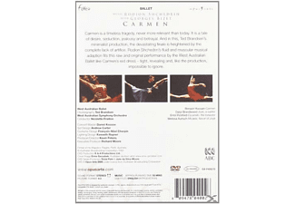 Errol Pickford, Daryl Brandwood, Benazir Hussain - Carmen - West Australian Ballet  - (DVD)