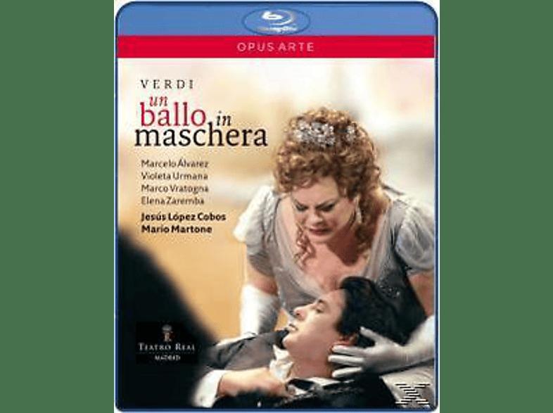 LOPEZ-COBOS/ALVAREZ/URMANA - Ein Maskenball [Blu-ray]