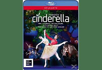 Wheeldon/Tsygankova/Golding, Florio/Durch National Ballet - Cinderella  - (Blu-ray)