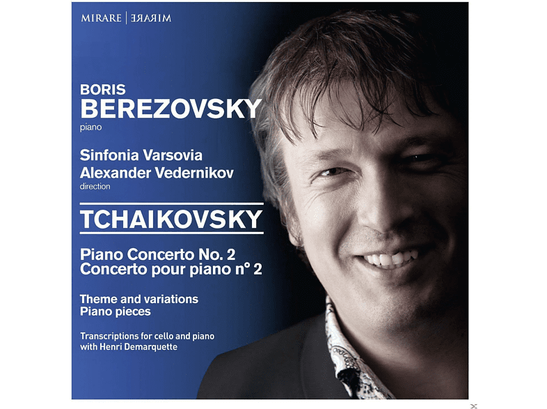 Boris Berezovksy, The Sinfonia Varsovia - Piano Concerto No. 2 [CD]
