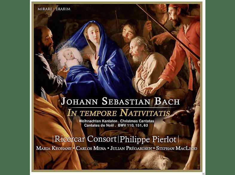 Ricercar Consort, Maria Keohane, Stephan Macleod, Philippe Pierlot, Carlos Mena, Julian Prégardien - Weihnachtskantaten BWV 110 / 151 / 63 [CD]