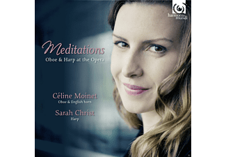 Celine Moinet, Sarah Christ - Meditations - Oboe & Harp At The Opera - (CD)