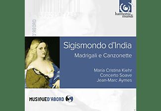 Maria Cristina Kiehr, Concerto Soave - Madrigali E Canzonette  - (CD)