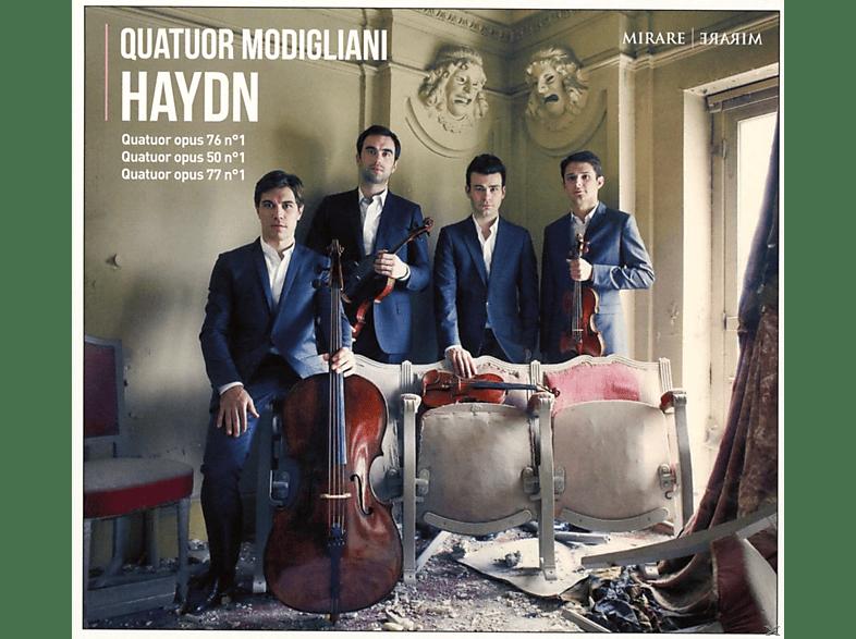 Quatuor Modigliani - Haydn-Quartets Vol.2 [CD]