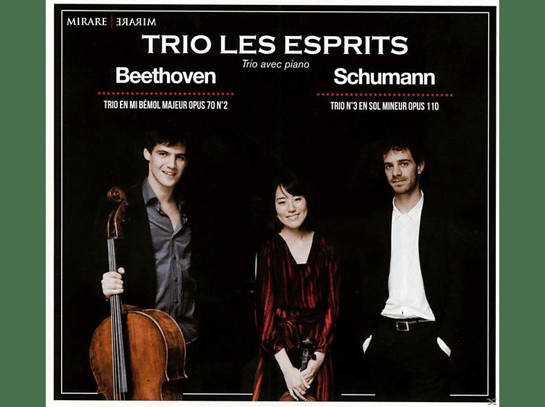 Trio Les Esprits - Beethoven & Schumann: Klaviertrios [CD]
