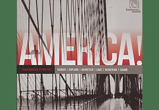 VARIOUS - America! Vol.3-Modern To Pop Art  - (CD)