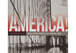 VARIOUS - America! Vol.3-Modern To Pop Art - (CD)