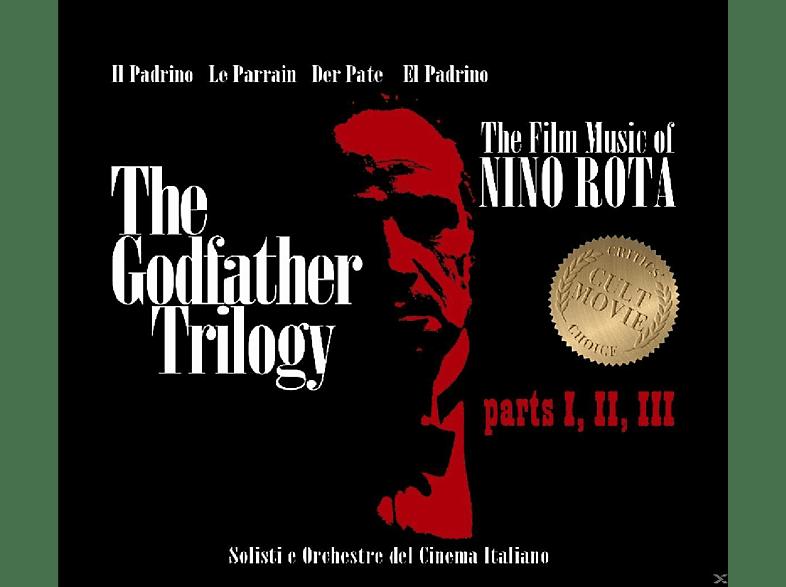 Solisti E Orchestre Del Cinema Italiano - Godfather Trilogy Part 1,2,3 [CD]