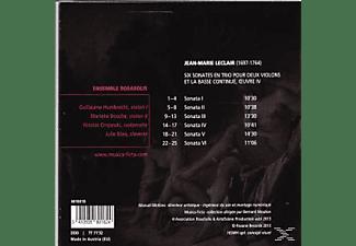 Ensemble Rosasolis - Leclair: Six Sonates En Trio Oeuvre Iv  - (CD)