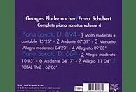 Georges Pludermacher (pno) - Klaviersonaten D.664 & 894 Vol.4 [CD]