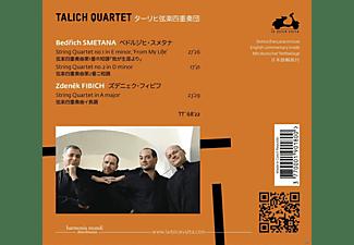 Zdeněk Fibich, Talich Quartet - Streichquartette  - (CD)