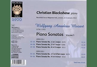 Christian Blackshaw - Piano Sonatas Volume 1  - (CD)