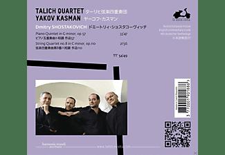 Talich Quartet, Yakov Kasman - Piano Quintet In G Minor, Op. 57 / String Quartet No. 8 In C Minor, Op. 110  - (CD)