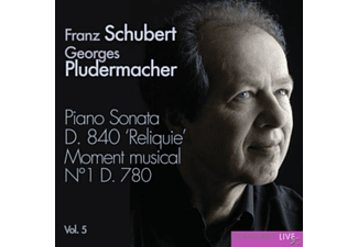 Georges Pludermacher - Klaviersonaten D.840 & 780 Vol.5 - (CD)