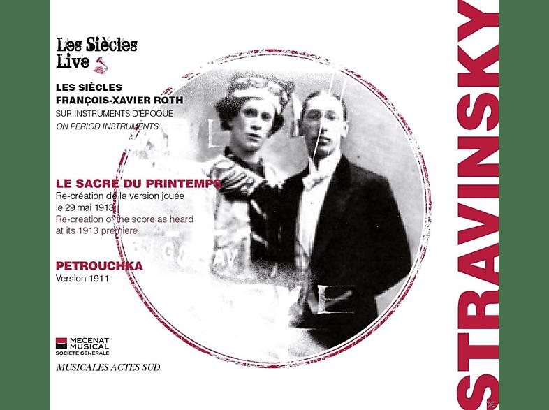 François Xavier Roth - Les Siècles Live - Le Sacre Du Printemps / Patrouchka [CD]