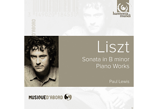 Paul Lewis - Sonata In B Minor  - (CD)