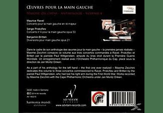 Orchestre Philharmonique Du Maxime Zecchini (pno) - Oeuvres Pour La Main Gauche Vol.4  - (CD)