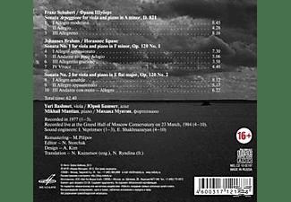 Mikhail Muntian (pno) Yuri Bashmet (va) - Bratschensonaten  - (CD)