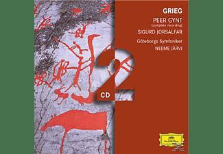 Gso, Neeme/gso Järvi - Peer Gynt Op.23/Sigurd Jorsalfar (Ga)  - (CD)