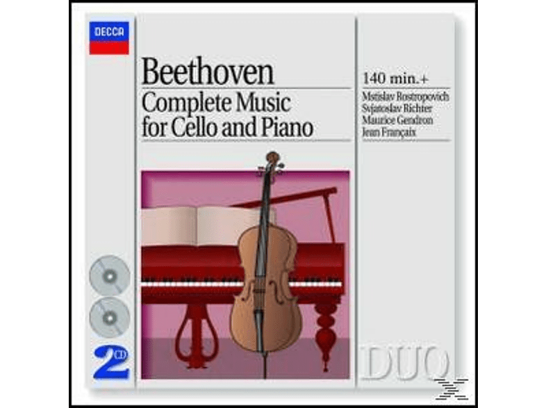 Sviatoslav Richter, Rostropowitsch,Mstislav/Richter,Svjatoslav/+ - Sämtliche Cellosonaten 1-5 (Ga) [CD]