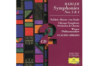 Chicago Symphony Orchestra, Claudio/cso Abbado - Sinfonien 2, 4 [CD]