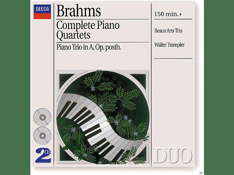 Walter Trampler, Bernard Greenhouse, Daniel Guilet, Isidore Cohen, Menahem Pressler, Beaux Arts Trio - Sämtliche Klavierquartette 1-3 (Ga) [CD]
