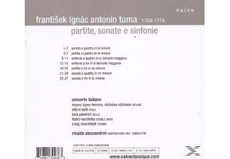Concerto Italiano - Partite, Sonate E Sinfonie  - (CD)
