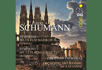Orchestre De Chambre De Lausanne, Zacharias Christian - Symphony No. 1 B Flat Major Op. 38 - Symphony No. 3 Flat Major Op. 97  - (SACD Hybrid)
