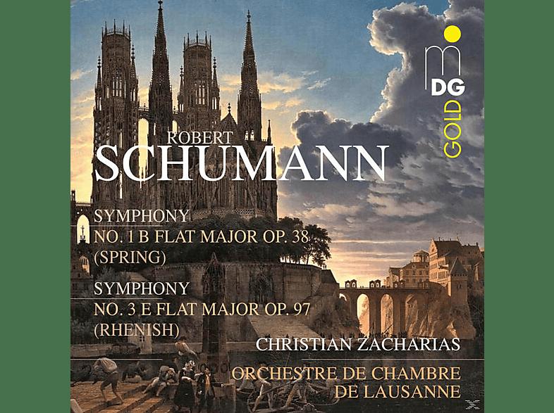 Orchestre De Chambre De Lausanne, Zacharias Christian - Symphony No. 1 B Flat Major Op. 38 - Symphony No. 3 Flat Major Op. 97 [SACD Hybrid]