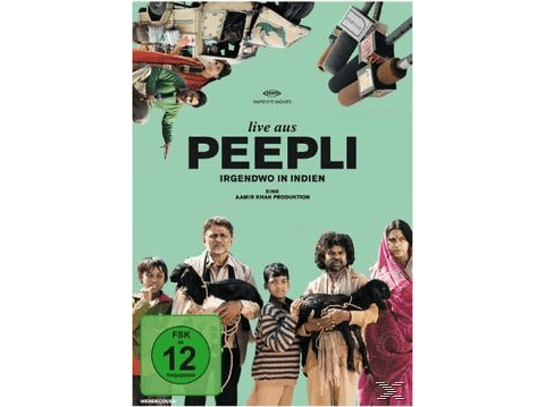 Live aus Peepli - Irgendwo in Indien [DVD]