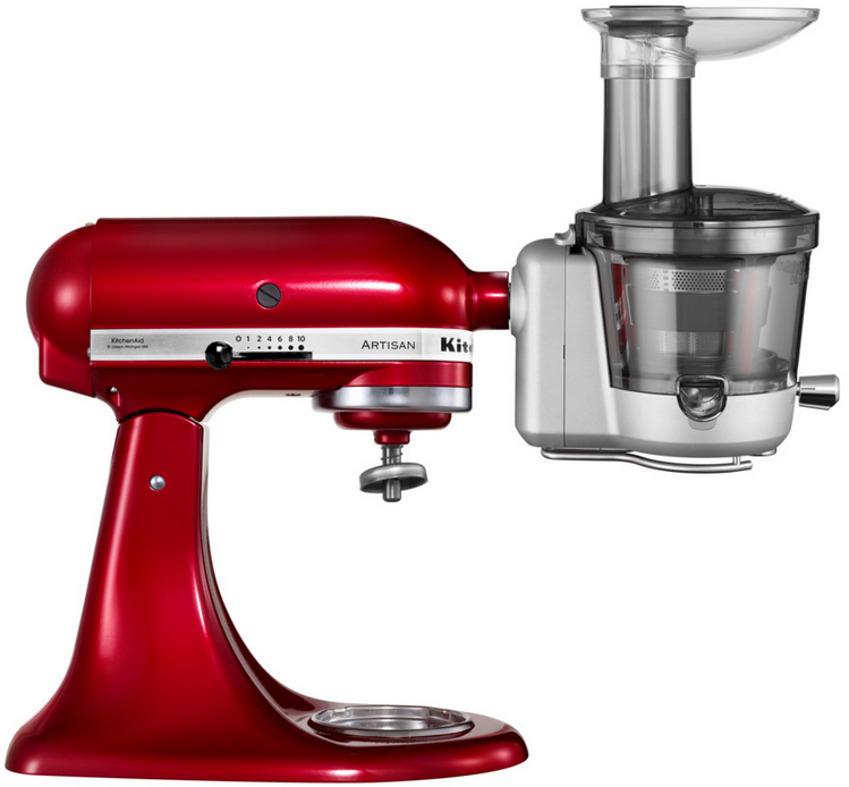 KitchenAid Entsafter Vorsatz mit Zubehör für ALLE KitchenAid Küchenmaschinen