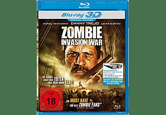 Zombie Invasion War 3D Blu-ray