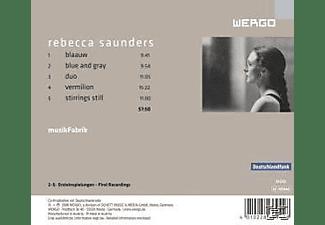 Musikfabrik - Blaauw/Blue And Gray/Duo/Vermilion/Stirr  - (CD)