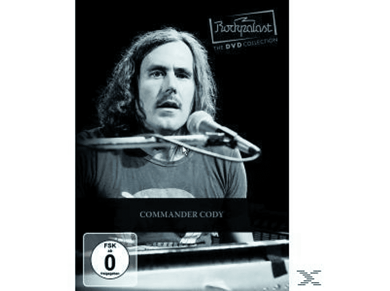 Commer Cody - Rockpalast - Blues Rock Legends Vol. 1: Commander Cody [DVD]