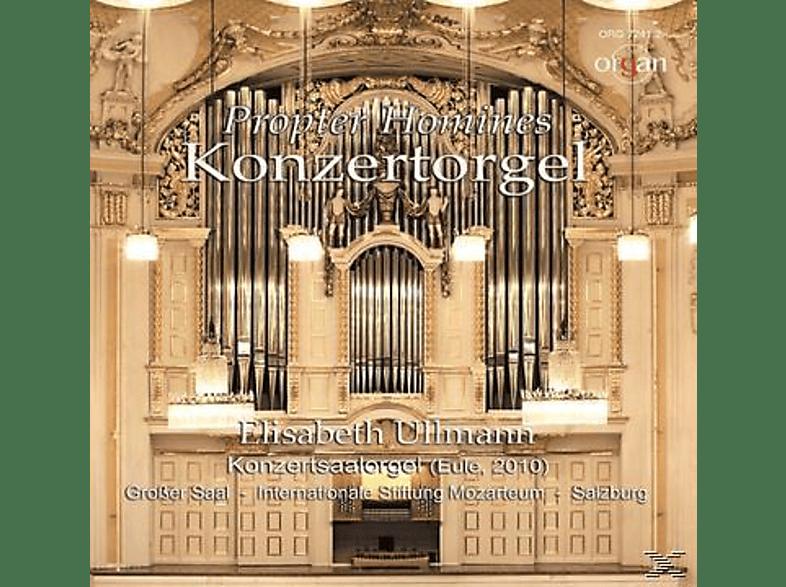 Elisabeth Ullmann - Propter Homines-Orgel im Mozarteum Salzburg [CD]