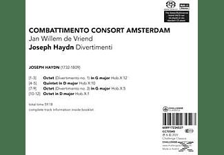 Combattimento Consort Amsterdam - Divertimenti  - (CD)