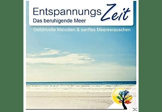 Entspannungszeit - Entspannungszeit: Das Beruhigende Meer - Gefühlvolle Melodien Und Sanftes Meeresrauschen  - (CD)