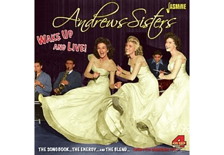 The Andrew Sisters - Wake Up & Live  - (CD)