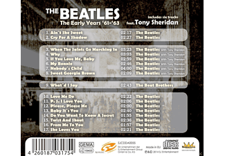 The Beatles - The Early Years - 1961-1963  - (CD)